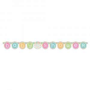 Banner in Carta , Baby Shower Unisex PS 09630 Party Nascita | Pelusciamo.com