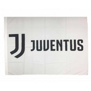 Bandiera Juve bianconera 130x95 cm. Nuovo logo Juventus F.C. PS 04703 pelusciamo store