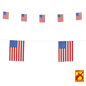 Festone da Appendere Bandierine Americane | Pelusciamo.com
