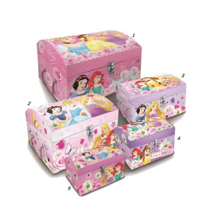 Baule portatutto vari modelli e misure Principesse Disney  *21984  | Pelusciamo.com