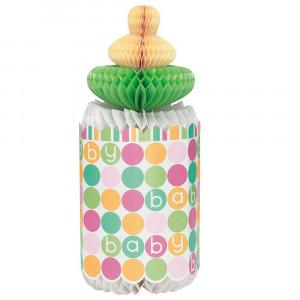 Centrotavola Carta Biberon Nascita,  Baby Shower *05200 | Pelusciamo.com