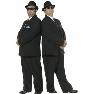 Costume Carnevale Blues Brothers travestimento costumi