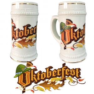 Boccale Birra In Ceramica Ocktoberfest Boccali Personalizzati PS 13514-1