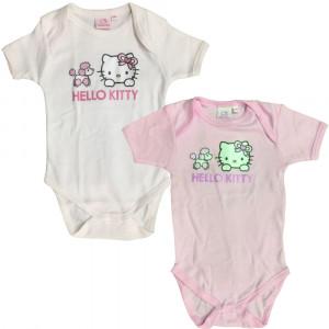 Set 2 Body Neonata  Hello Kitty, Abbigliamento Primi Mesi | pelusciamo store