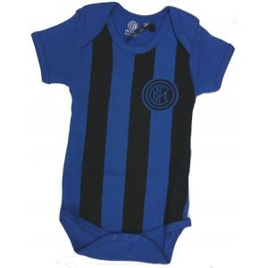 Body Neonato Inter Nero Azzurro Ufficiale Fc Internazionale PS 20974 pelusciamo store