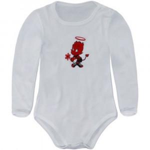 Body Neonato manica lunga  Abbigliamento ufficiale A.C. Milan  *03630