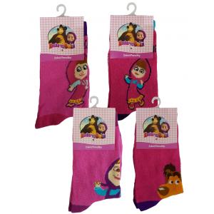 Calze Bambina Masha e Orso Abbigliamento Bimba    Pelusciamo.com