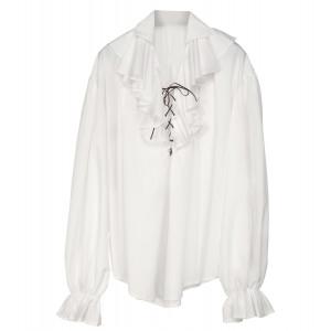 Accessorio Costume  Pirata, Rinascimento, Camicia Bianca   | Pelusciamo.com