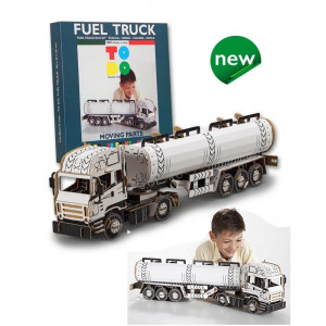 Gioco Costruzioni  Todo,  Camion Carburante | pelusciamo.com