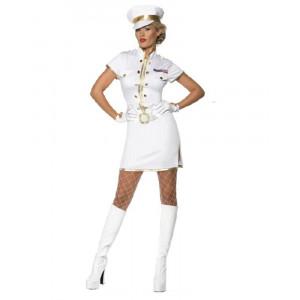 Costume Carnevale Donna Capitano Marina Smiffys 35260 *12553