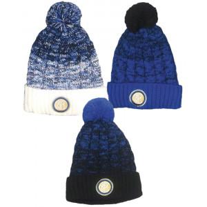 Cappello Ponpon Inter Abbigliamento Invernale Ufficiale FC Internazionale PS 28491 pelusciamo store