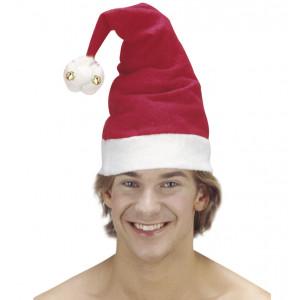 Cappello Babbo Natale con Campanelle Abbigliamento Natalizio PS 24833 Pelusciamo Store Marchirolo