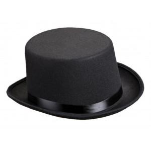 Cappello Cilindro Nero , Accessorio Carnevale *03844 | Pelusciamo.com