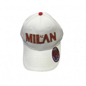 Cappello uomo Baseball A.C. Milan calcio Cappellino con visiera *02774 | pelusciamo.com