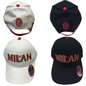 Cappello bambino Baseball A.C. Milan calcio Cappellino con visiera *02665 | pelusciamo.com