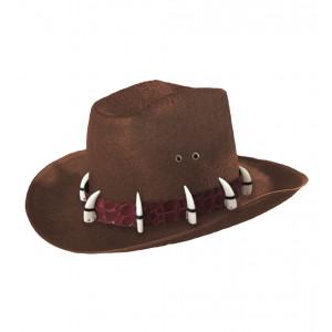 Cappello per Costume Carnevale Adulto crocodile dandy *02380 | Pelusciamo.com