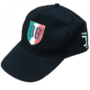 Cappello Juventus 36° Scudetto Campioni D'Italia 2017-2018 PS 03724 pelusciamo store