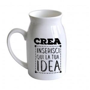 Tazza Latte IA caraffa n Ceramica Personalizzabile   |  Pelusciamo Store Marchirolo