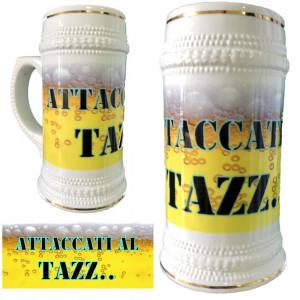 Boccale Birra In Ceramica Attaccati Al Tazz... Boccali Personalizzati PS 13514-3