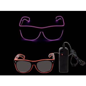 Occhiali a led colori assortiti , Accessorio Feste e party a tema 04431 pelusciamo store