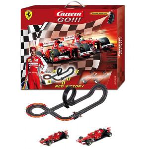 Gioco Pista Carrera GO Red Victory 03815 piste auto giocattoli per bambini pelusciamo store