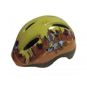 Caschetto bambino per bicicletta Looney Tunes Giallo Taglia 47/55 PS 05798 | Pelusciamo.com
