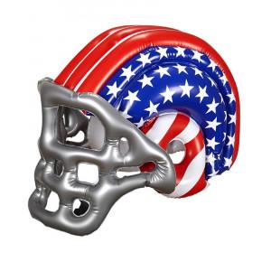 Casco football americano gonfiabile da adulto 04689 accessori carnevale pelusciamo store