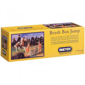 Breyer Horses Horse salto brush box jump  salto a ostacoli *05652 pelusciamo store