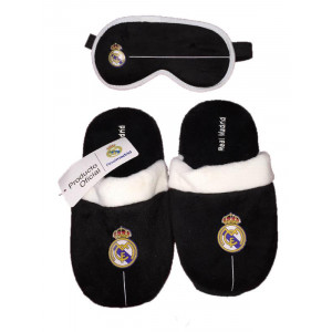 Pantofole con Mascherina Notte Real Madrid C.F.