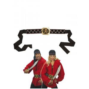 Cintura con Teschi - Accessorio Costume Carnevale da Pirata, bucaniere | Pelusciamo.com