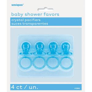 Set 4 Mini Ciucci  Azzurri, Baby Shower Bimbo *15893 | Pelusciamo.com