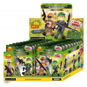 1 bustina con personaggio gioco di costruzioni Cobi Small Army *02590 pelusciamo store