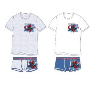 Completo intimo Spiderman maglia + boxer Marvel uomo ragno *01620 | pelusciamo.com