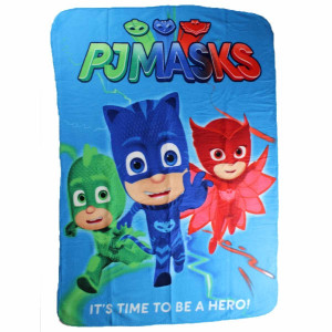 Coperta Plaid In Pile Pj Masks By Hero 100x150 Cm. PS 08867 Pelusciamo Store Marchirolo