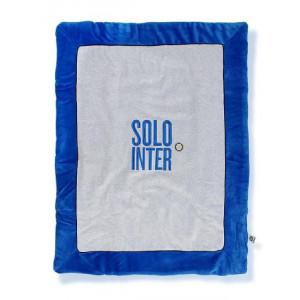 Copertina neonato Iin ciniglia Inter Ufficiale FC Internazionale *00809 pelusciamo store