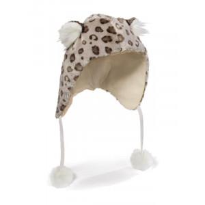 Cappello in Peluche Nici Leopardo delle Nevi Copricapo Invernale | pelusciamo.com