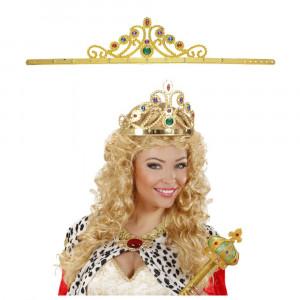 Corona Regina Regolabile, Accessorio Carnevale Donna *18959 Principessa | Pelusciamo.com