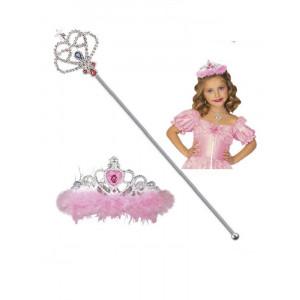 Accessorio Costume Principessa, Set Scettro o Corona | Pelusciamo.com