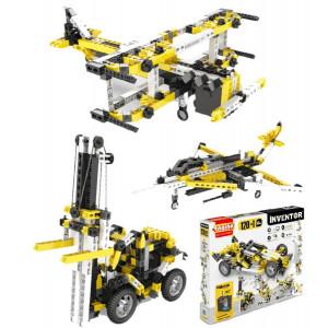Set 120 in uno inventor gioco di costruzioni engino motorizzato *02477 pelusciamo store