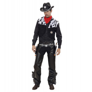 Costume Carnevale Adulto CowBoy Cow Boy Far West PS 19821