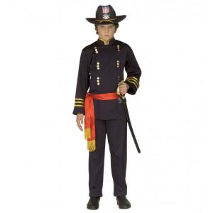 Costume Carnevale Bimbo,Ragazzo Generale Nordista Americano  Pelusciamo.com