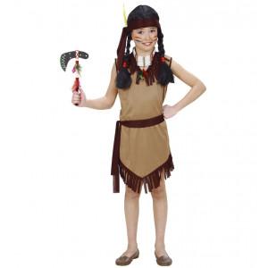 Costume Carnevale Bimba,Ragazza,Vestito  Indiana | Pelusciamo.com