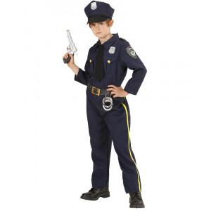 Costume Carnevale Bimbo Police Ragazzo Poliziotto PS 22955 Pelusciamo Store Marchirolo