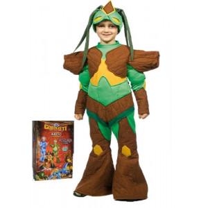 Costume Carnevale Bambino cartoni animati Gormiti Foresta Lucas *03934