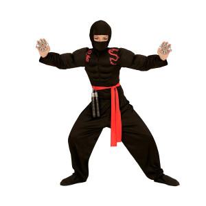 Costume Carnevale Bambino Guerriero Super Ninja | Pelusciamo.com