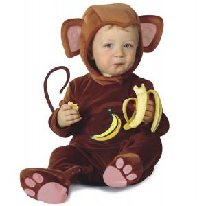Costume Carnevale Bimbo Primi Mesi, Scimmia  *05436 | pelusciamo store