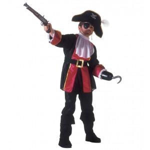 Costume Carnevale Bimbo Ragazzo Capitano Pirata    pelusciamo store