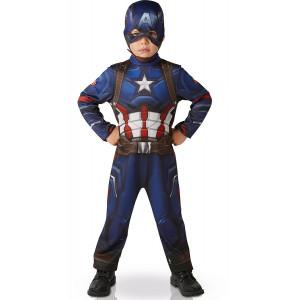 Costume Carnevale bambino Captain America The Avengers 05067 pelusciamo store