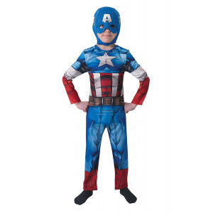 Costume Carnevale bambino Captain America The Avengers 05051 pelusciamo store