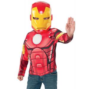 Set Carnevale bambino Iron Man con muscoli The Avengers *05035 pelusciamo store